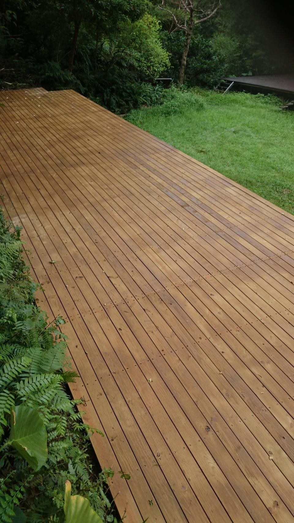南方松施工 木平台