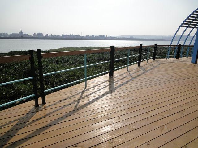 社子島越堤坡道景觀平台