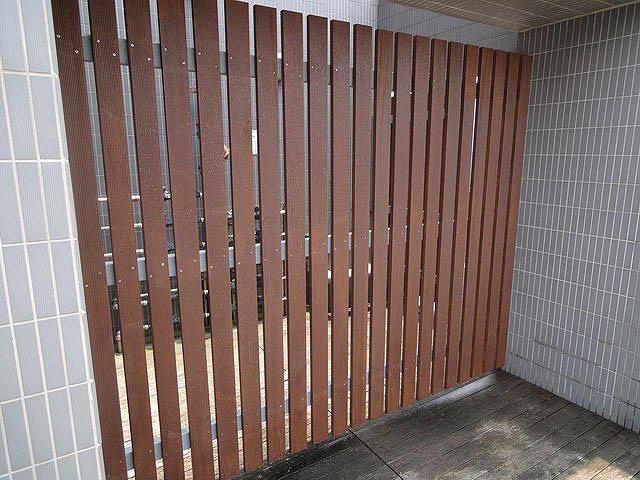 花見社區鋼構木圍籬