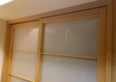 木皮板障子門樣式一