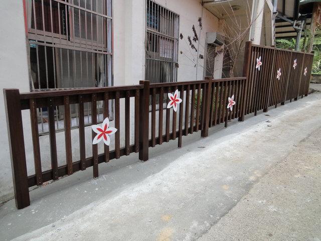 竹東上瑞社區賞螢步道圍籬