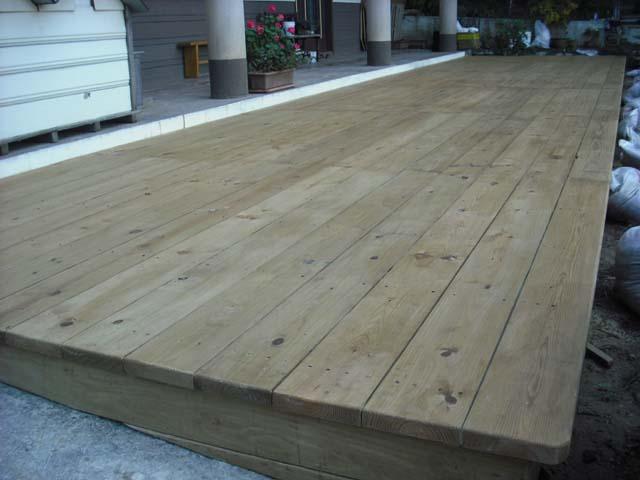 南方松木平台