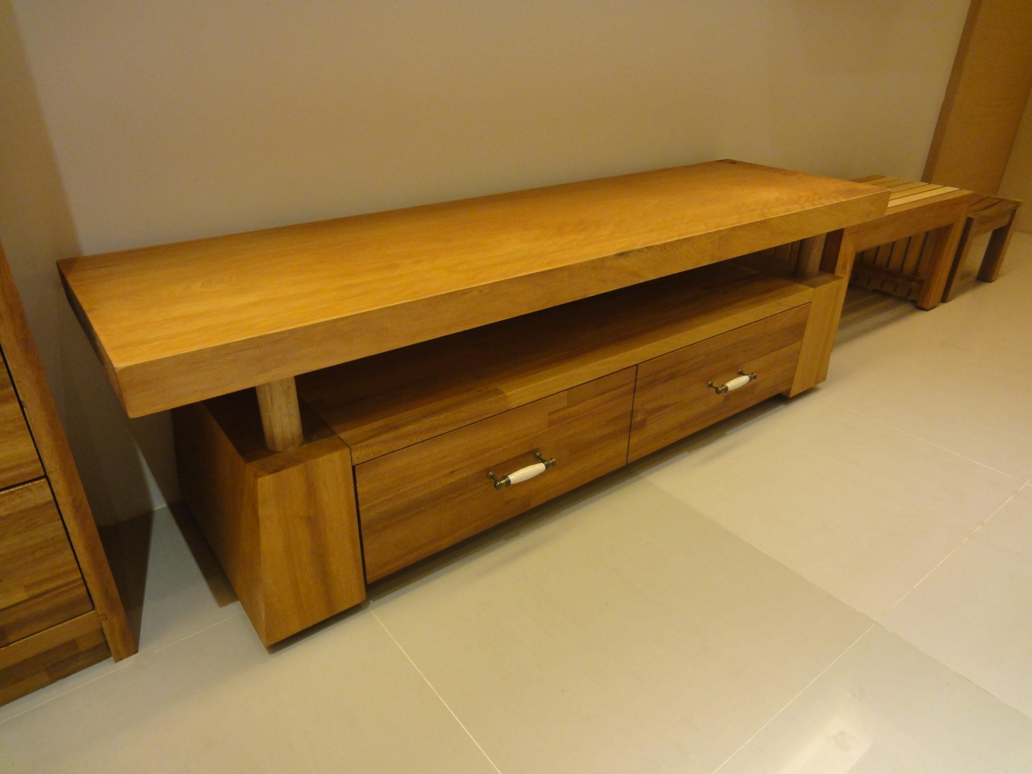 寮檜 金檀 組合實木電視櫃