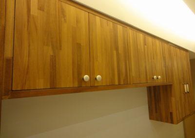 金檀木集成實木吊櫃