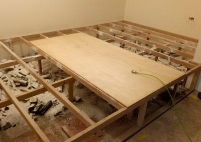 和室臥床高架地板