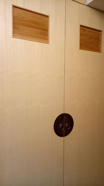 傳統木皮板鞋櫃