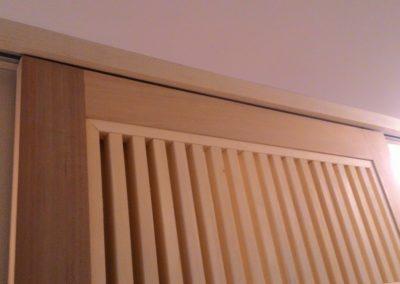 橫拉式檜木格柵
