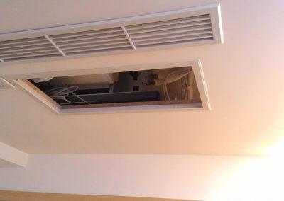 懸吊式冷氣天花板